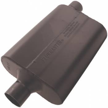 """Flowmaster - Flowmaster Super 44 Delta Flow Muffler - 2.25"""" Center Inlet / Offset Outlet"""