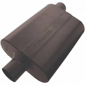 "Flowmaster - Flowmaster Super 44 Delta Flow Muffler - 2.5"" Center Inlet / Offset Outlet"