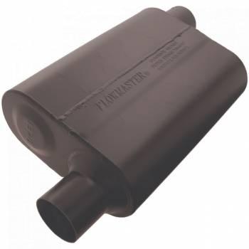 """Flowmaster - Flowmaster Super 44 Delta Flow Muffler - 2.5"""" Offset - Inlet / Opposite Side Offset Outlet"""