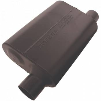 "Flowmaster - Flowmaster Super 44 Delta Flow Muffler - 2.5"" Offset - Inlet / 2.50"" Same Side Outlet-Aggressive Sound"