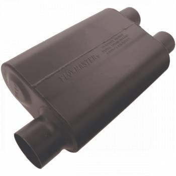 """Flowmaster - Flowmaster Super 44 Delta Flow Muffler - 3"""" Offset - Inlet / 2.5"""" Dual Outlet"""