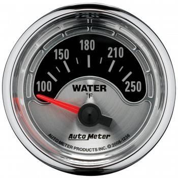 "Auto Meter - Auto Meter American Muscle Water Temperature Gauge - 2-1/16"""