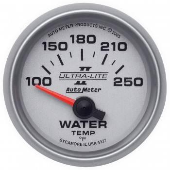 """Auto Meter - Auto Meter 2-1/16"""" Ultra-Lite II Electric Water Temperature Gauge - 100-250°"""