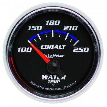Auto Meter - Auto Meter Cobalt Electric Water Temperature Gauge - 2-1/16""