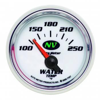 "Auto Meter - Auto Meter NV Electric Water Temperature Gauge - 2-1/16"""