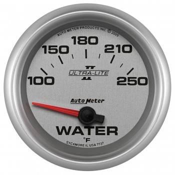 """Auto Meter - Auto Meter 2-5/8"""" Ultra-Lite II Water Temp Gauge - 100-250F"""