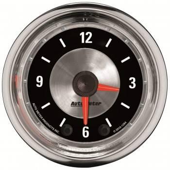 Auto Meter - Auto Meter 2-1/16 A/M Clock