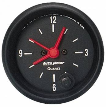 Auto Meter - Auto Meter Z-Series Clock - 2-1/16 in.