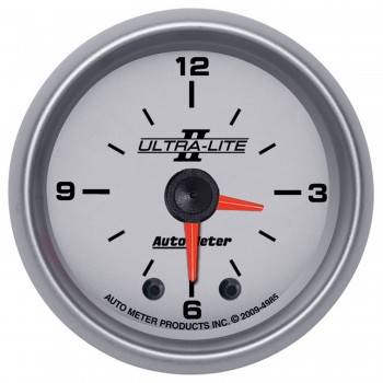 Auto Meter - Auto Meter Ultra-Lite II Clock - 2-1/16 in.