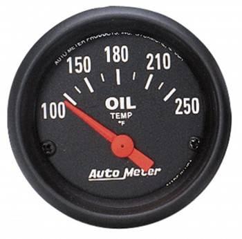 "Auto Meter - Auto Meter Z-Series Electric Oil Temperature Gauge - 2-1/16"""