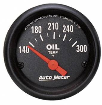 Auto Meter - Auto Meter Z-Series Electric Oil Temperature Gauge - 2-1/16""