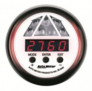 """Auto Meter - Auto Meter Phantom Pro Shift Lite Gauge - 2-1/16"""""""