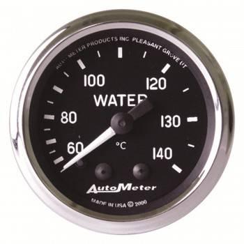 """Auto Meter - Auto Meter Cobra Mechanical Water Temperature Gauge - 2-1/16"""""""