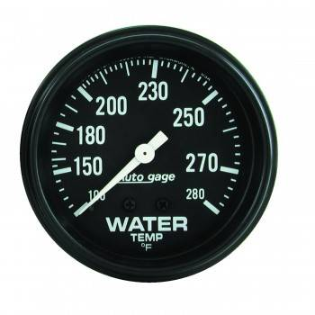 Auto Meter - Auto Gage Water Temperature Gauge - 2-5/8""