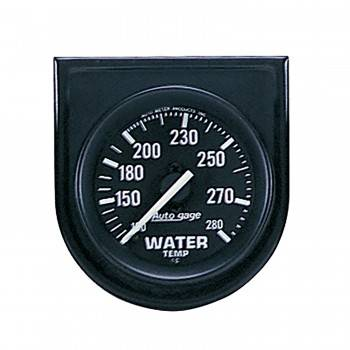 Auto Meter - Auto Gage Water Temperature Gauge Panel - 2-1/16""