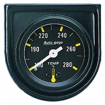 Auto Meter - Auto Gage Mechanical Water Temperature Gauge - 1-1/2""