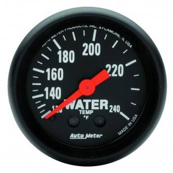 """Auto Meter - Auto Meter Z-Series 2-1/16"""" Water Temperature Gauge"""