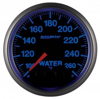 Auto Meter - Auto Meter Elite Series Water Temperature Gauge - 2-1/16""