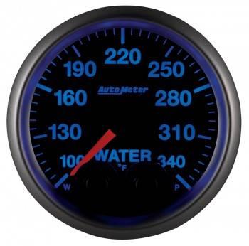 "Auto Meter - Auto Meter Elite Series Water Temperature Gauge - 2-1/16"""
