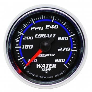 """Auto Meter - Auto Meter Cobalt Mechanical Water Temperature Gauge - 2-1/16"""""""