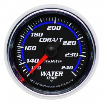 Auto Meter - Auto Meter Cobalt Mechanical Water Temperature Gauge - 2-1/16""