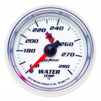 Auto Meter - Auto Meter C2 Mechanical Water Temperature Gauge - 2-1/16""