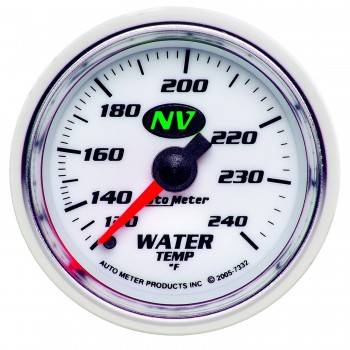 Auto Meter - Auto Meter NV Mechanical Water Temperature Gauge - 2-1/16""