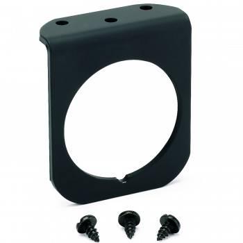 Auto Meter - Auto Meter 1 Hole Aluminum Panel - Black