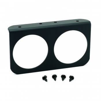 "Auto Meter - Auto Meter 2-5/8"" Two Hole Gauge Panel"