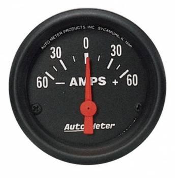 """Auto Meter - Auto Meter Z-Series Electric Ammeter Gauge - 2-1/16"""""""