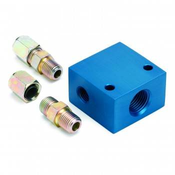 """Auto Meter - Auto Meter Transmission Temperature Manifold - For 3/8"""" O.D. Tubing"""