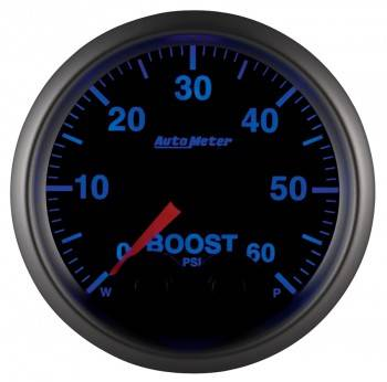 Auto Meter - Auto Meter Elite Series Boost Gauge - 2-1/16 in.