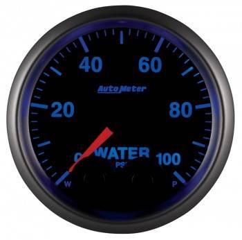 """Auto Meter - Auto Meter Elite Series Water Pressure Gauge - 2-1/16"""""""