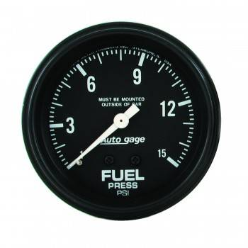 "Auto Meter - Auto Gage Fuel Pressure Gauge - 2-5/8"""
