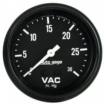 """Auto Meter - Auto Gage Vacuum Gauge - 2-5/8"""""""
