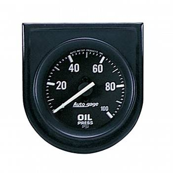 Auto Meter - Auto Gage Oil Pressure Gauge Panel - 2-1/16""