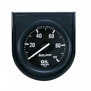 "Auto Meter - Auto Gage Oil Pressure Gauge Panel - 2-1/16"""