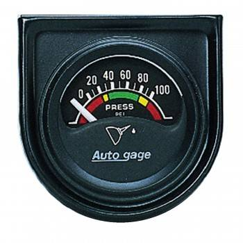 Auto Meter - Auto Gage Electric Oil Pressure Gauge - 1-1/2""