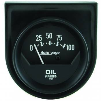 Auto Meter - Auto Gage Mechanical Oil Pressure Gauge - 2-1/16""