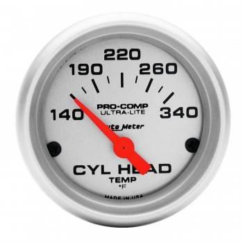 Auto Meter - Auto Meter Ultra-Lite Electric Cylinder Head Temperature Gauge - 2-1/16 in.
