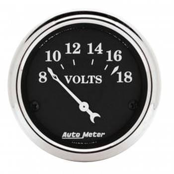 Auto Meter - Auto Meter 2-1/16 O/T/B Voltmeter Gauge