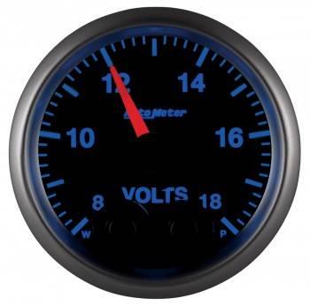 "Auto Meter - Auto Meter Elite Series Voltmeter Gauge - 2-1/16"""