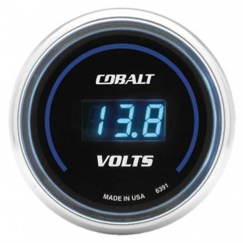 """Auto Meter - Auto Meter Cobalt Digital Voltmeter Gauge - 2-1/16"""""""