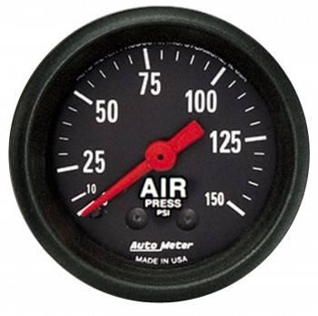 Auto Meter - Auto Meter Z-Series Mechanical Air Pressure Gauge - 2-1/16 in.