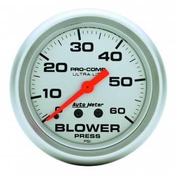 Auto Meter - Auto Meter Ultra-Lite Mechanical Boost Gauge - 2-5/8 in.