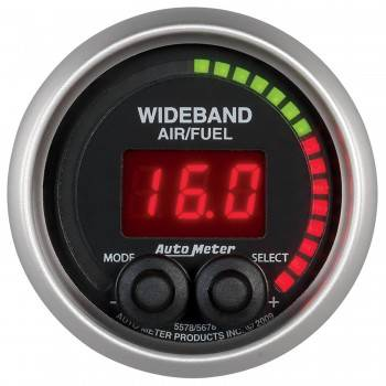 Auto Meter - Auto Meter Elite Series Wide Band Air Fuel Ratio Gauge - 2-1/16 in.