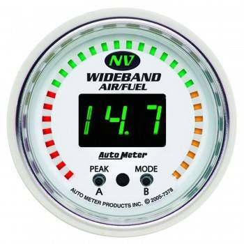 Auto Meter - Auto Meter NV Wide Band Air / Fuel Ratio Kit - 2-1/16 in.