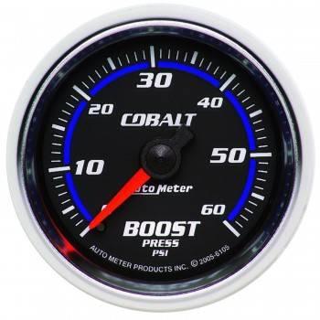 Auto Meter - Auto Meter Cobalt Mechanical Boost Gauge - 2-1/16 in.