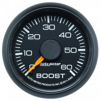 Auto Meter - Auto Meter 2-1/16 Boost Pressure Gauge - GM Diesel Truck