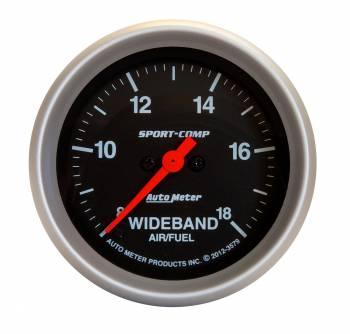 Auto Meter - Auto Meter 2-5/8 Sport-Comp Wideband Air/Fuel Gauge